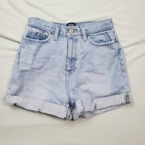 BDG Urban Outfitters Mom High Rise Jean Shorts 25